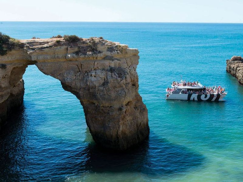 Algarve arrangement: Jeeptour & Boottocht